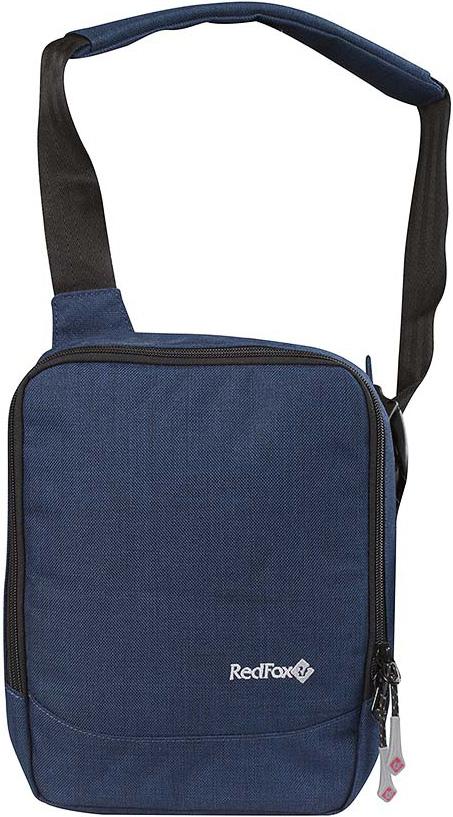 Сумка Red Fox Gadget Bag, цвет: синий, 21 x 27 x 6 см1040253Сумка Red Fox Gadget Bag - удобная городская сумка с множеством отделений. Особенности: - отделение, подходящее для размещения ультрабука,планшета, смартфона, - органайзер c карманами, - отделение для мобильного телефона, - отделения для канцелярских принадлежностей, - отделение на молнии, - открытый карман, - карабин для ключей,- регулируемый плечевой ремень.