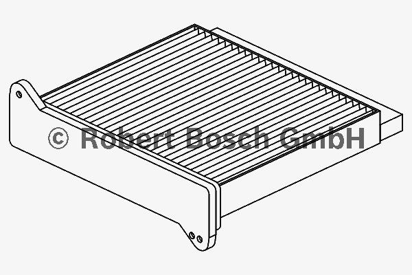 Фильтр салона (угольный) Bosch 19874324261987432426