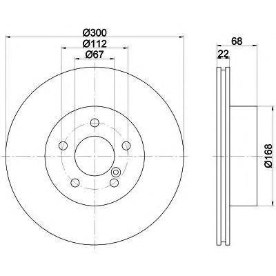 Диск тормозной задний вентилируемый Textar 92115503 комплект 2 шт92115503