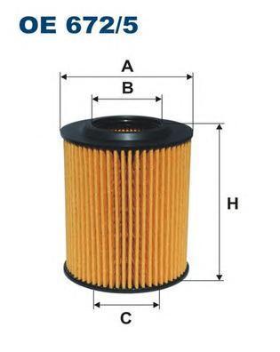 Фильтр масляный Filtron OE6725OE6725