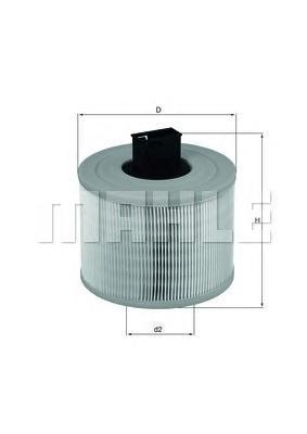 Фильтр воздушный Mahle/Knecht LX1035LX1035