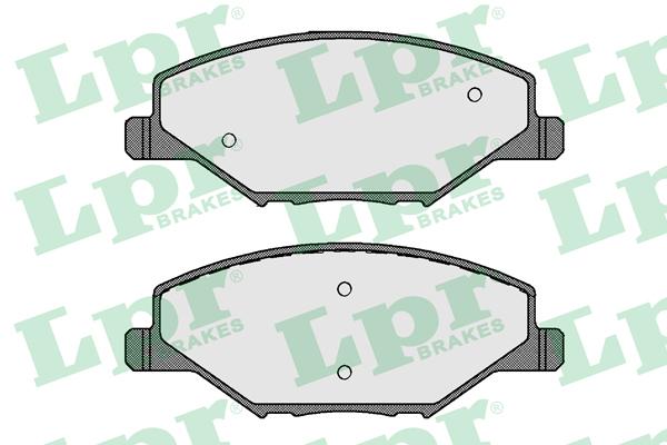 Колодки тормозные передние LPR / AP 05P179505P1795