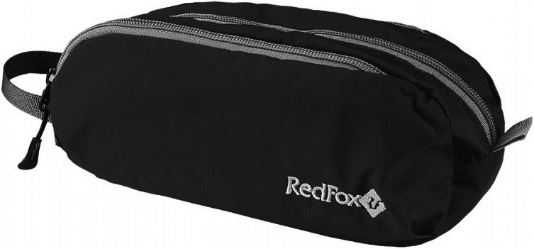 Сумка Red Fox Journey, цвет: черный, 9 x 21 x 9 см брюки red fox red fox husky женские