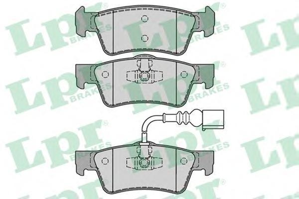 Колодки тормозные заднийLPR / AP 05P128405P1284