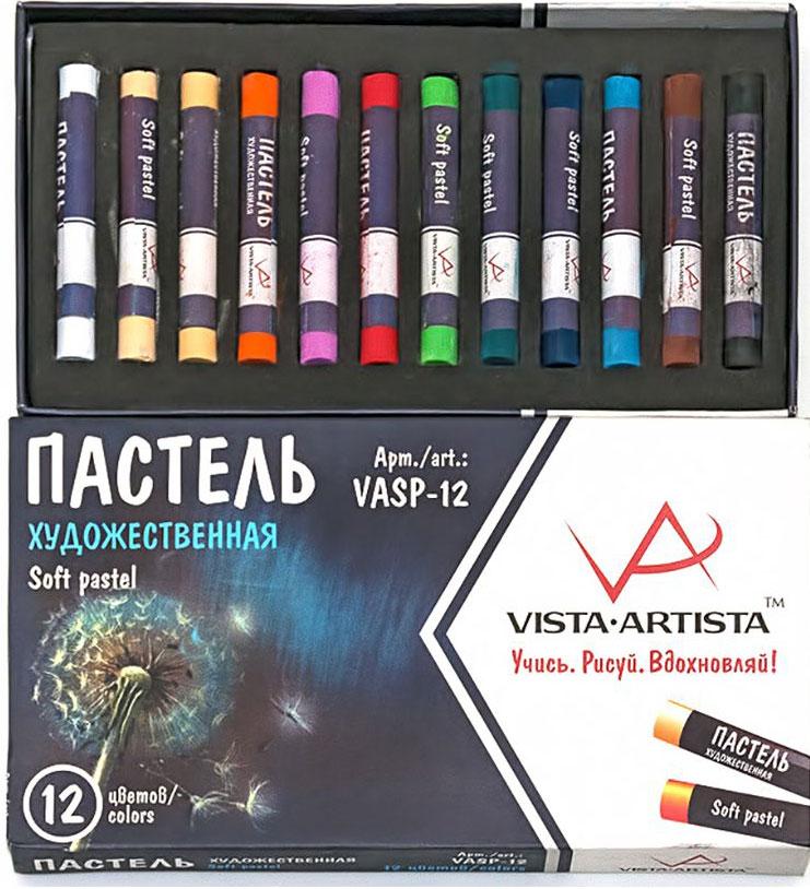 Vista-Artista Набор пастели 12 цветов VASP-12 -  Мелки и пастель