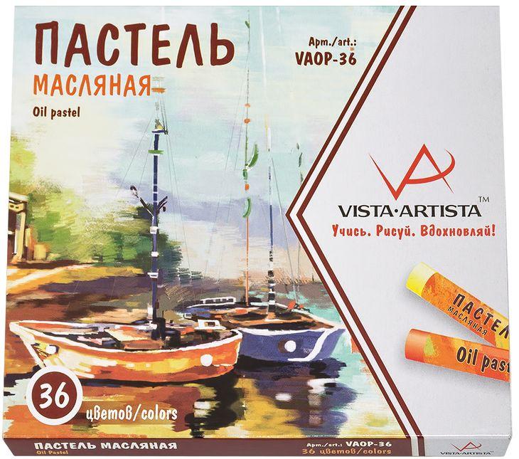 Vista-Artista Набор масляной пастели 36 цветов VAOP-36 -  Мелки и пастель