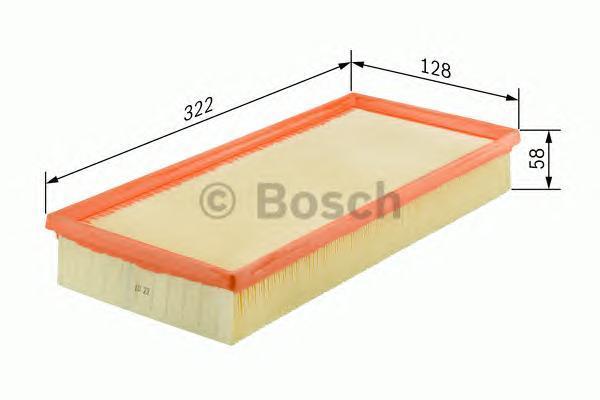 Фильтр воздушный Bosch F026400157F026400157