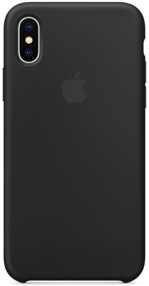 Apple Silicone Case, Black чехол для iPhone X - Чехлы
