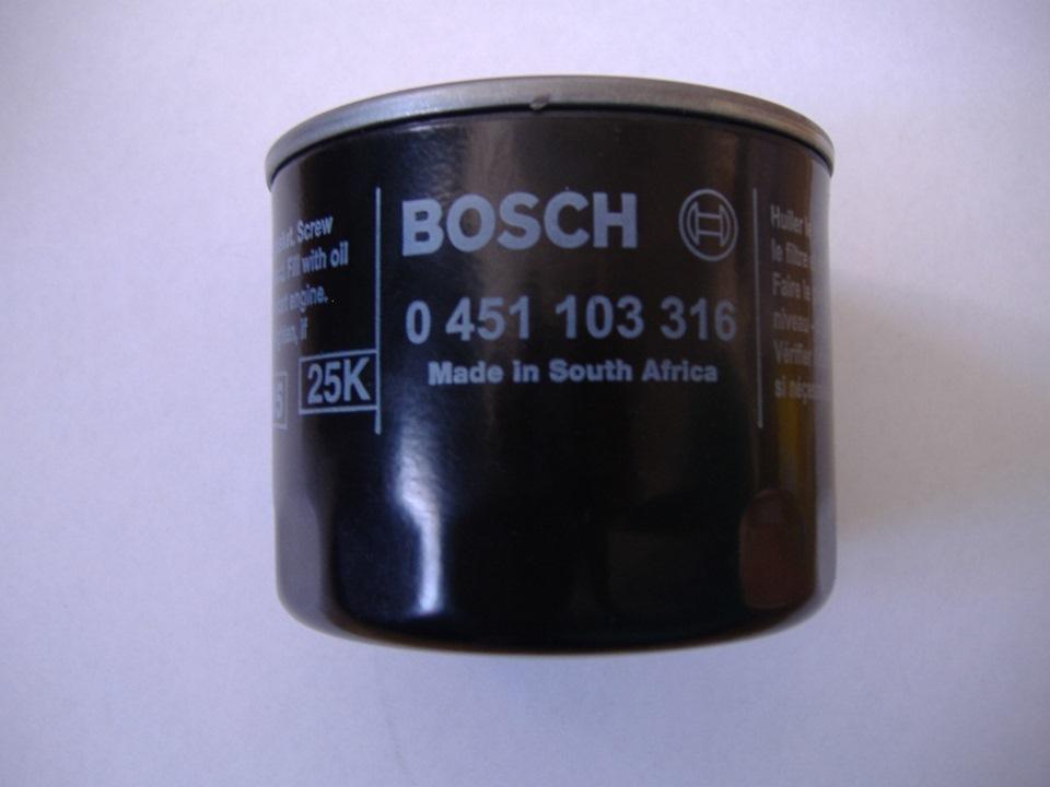 Фильтр масляный Bosch 451103316451103316