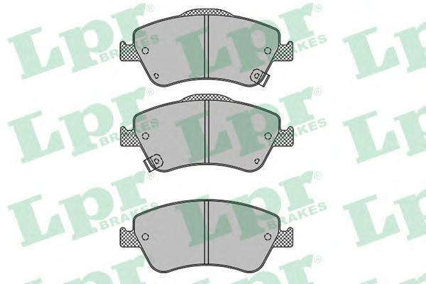 Колодки тормозные передниеLPR / AP 05P131605P1316