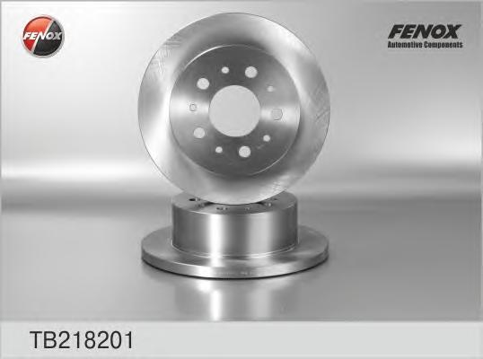 Диск тормозной Fenox TB218201 комплект 2 штTB218201
