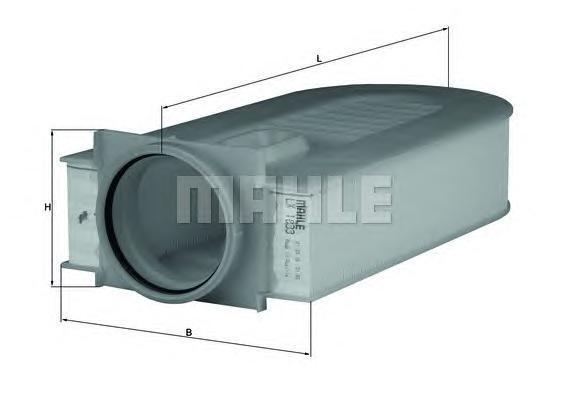 Фильтр воздушный Mahle/Knecht LX1833LX1833