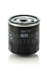 Фильтр масляный Mann-Filter MW712MW712