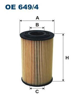 Фильтр масляный Filtron OE6494OE6494