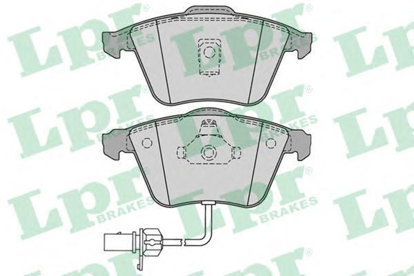 Колодки тормозные LPR / AP 05P123005P1230