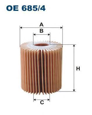 Фильтр масляный Filtron OE6854OE6854