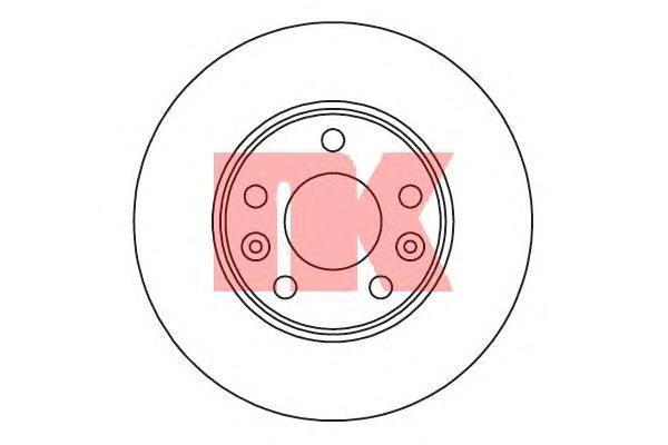 Диск тормозной NK 203970 комплект 2 шт203970