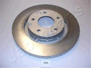 Диск тормозной Japanparts DI526 комплект 2 штDI526