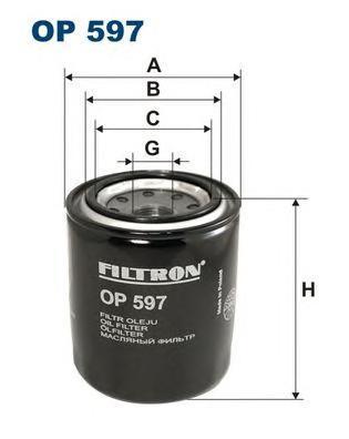 Фильтр масляный Filtron OP597OP597