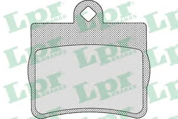 Колодки тормозные задние LPR / AP 05P72505P725