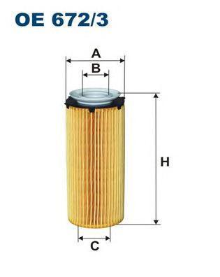 Фильтр масляный Filtron OE6723OE6723