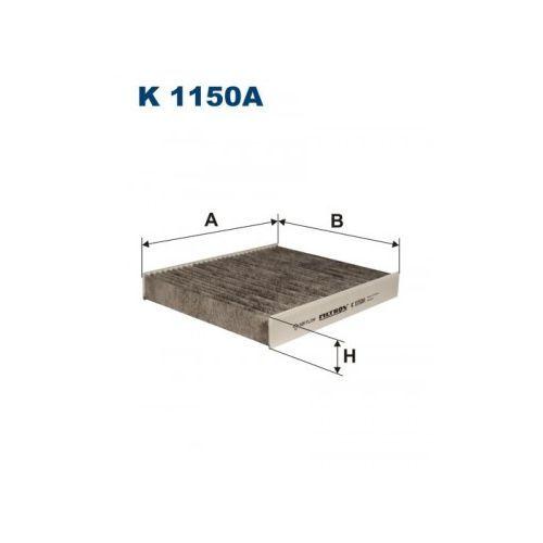 Фильтр салона угольный Filtron K1150AK1150A