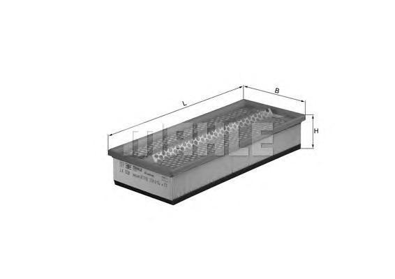 Фильтр воздушный Mahle/Knecht LX528LX528