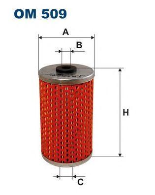 Фильтр масляный Filtron OM509OM509