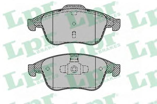 Колодки тормозные передние LPR / AP 05P138805P1388