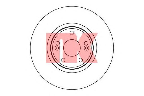 Диск тормозной NK 203932 комплект 2 шт203932