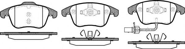 Колодки тормозные дисковые передние Road House 21219112121911