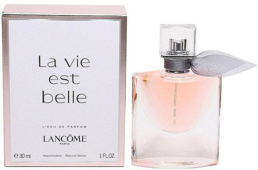 Lancome La Vie Est Belle парфюмерная вода женская, 30 мл954167Верхние ноты: черная смородина, груша; Средние ноты: ирис, жасмин, апельсиновый цвет; Базовые ноты: пачули, бобы тонка, ваниль, пралине.Краткий гид по парфюмерии: виды, ноты, ароматы, советы по выбору. Статья OZON Гид