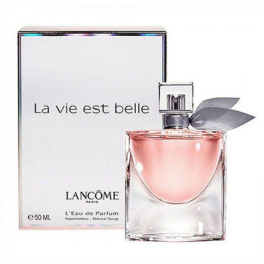 Lancome La Vie Est Belle парфюмерная вода женская, 50 мл954168Верхние ноты: черная смородина, груша; Средние ноты: ирис, жасмин, апельсиновый цвет; Базовые ноты: пачули, бобы тонка, ваниль, пралине.