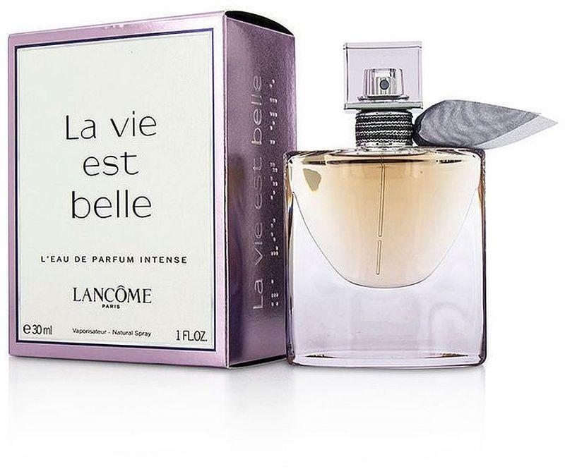 Lancome La Vie Est Belle Intense парфюмерная вода женская, 30 мл962417Верхние ноты: бергамот, апельсин, груша, смородиновые почки, красный перец; Средние ноты: тубероза, ирис, апельсиновый цвет, жасмин, иланг-иланг; Базовые ноты: лесной орех, взбитые сливки.