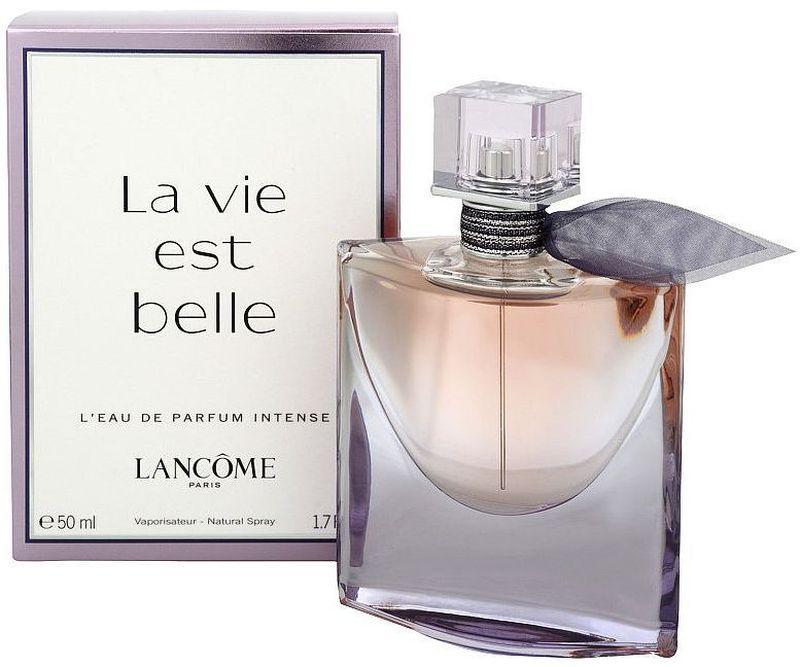 Lancome La Vie Est Belle Intense парфюмерная вода женская, 50 мл962418Верхние ноты: бергамот, апельсин, груша, смородиновые почки, красный перец; Средние ноты: тубероза, ирис, апельсиновый цвет, жасмин, иланг-иланг; Базовые ноты: лесной орех, взбитые сливки.Краткий гид по парфюмерии: виды, ноты, ароматы, советы по выбору. Статья OZON Гид