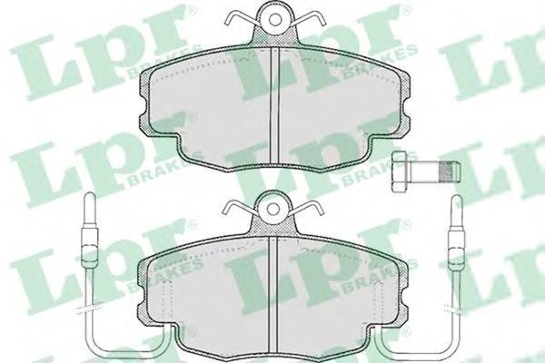 Колодки тормозные LPR / AP 05P22005P220