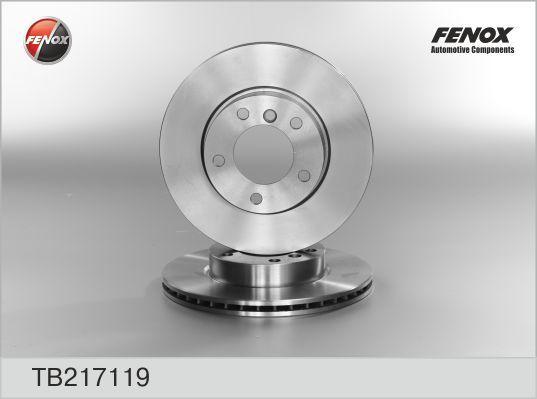 Fenox Диск тормозной. TB217119TB217119