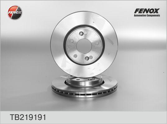 Диск тормозной Fenox TB219191 комплект 2 штTB219191