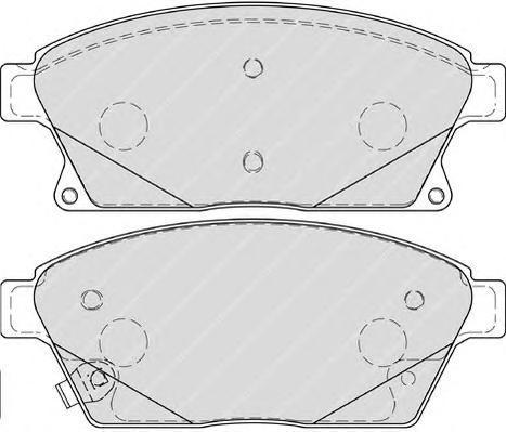 Колодки тормозные дисковые Premier Ferodo FDB4264FDB4264