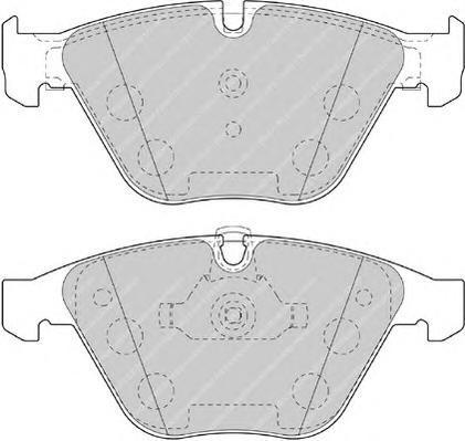 Колодки тормозные дисковые Premier Ferodo FDB4191FDB4191
