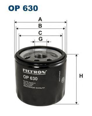 Фильтр масляный Filtron OP630OP630