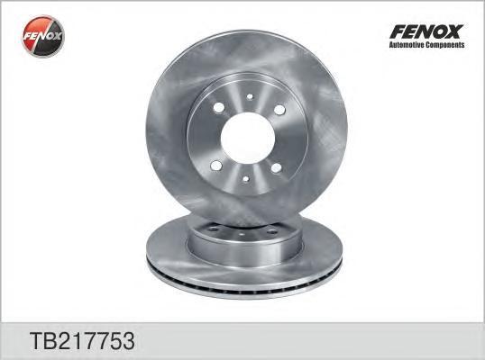 Диск тормозной Fenox TB217753TB217753