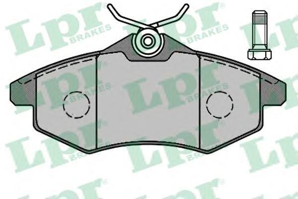 Колодки тормозные передние LPR / AP 05P80505P805