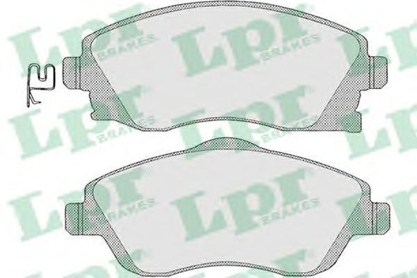 Колодки тормозные передние LPR / AP 05P100405P1004