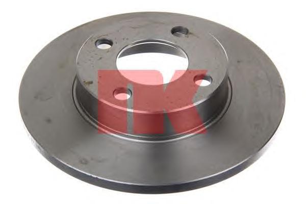 Диск тормозной NK 204718 комплект 2 шт204718