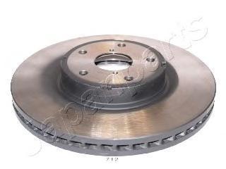 Диск тормозной Japanparts DI712 комплект 2 штDI712