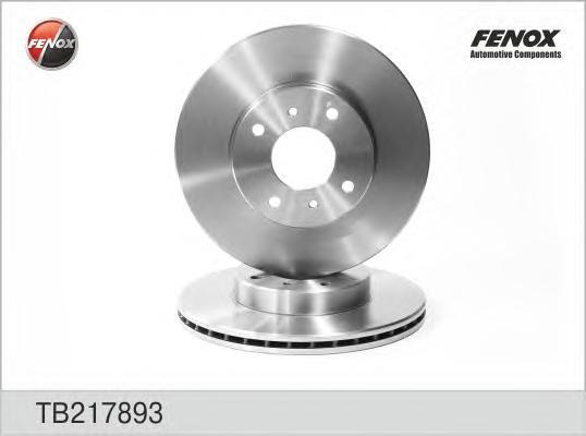 Диск тормозной Fenox TB217893 комплект 2 штTB217893