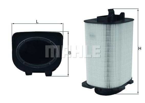 Фильтр воздушный Mahle/Knecht LX3775LX3775