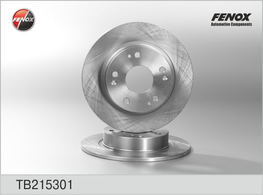 Диск тормозной Fenox TB215301 комплект 2 штTB215301