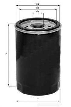 Фильтр масляный Mahle/Knecht OC602OC602
